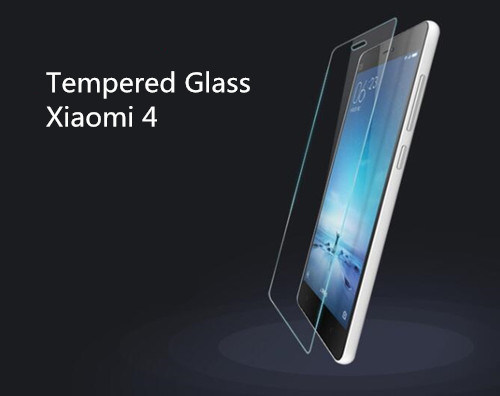 Tempered Glass Screen Protector for Xiaomi 4 Exlra Hard 0.3mm