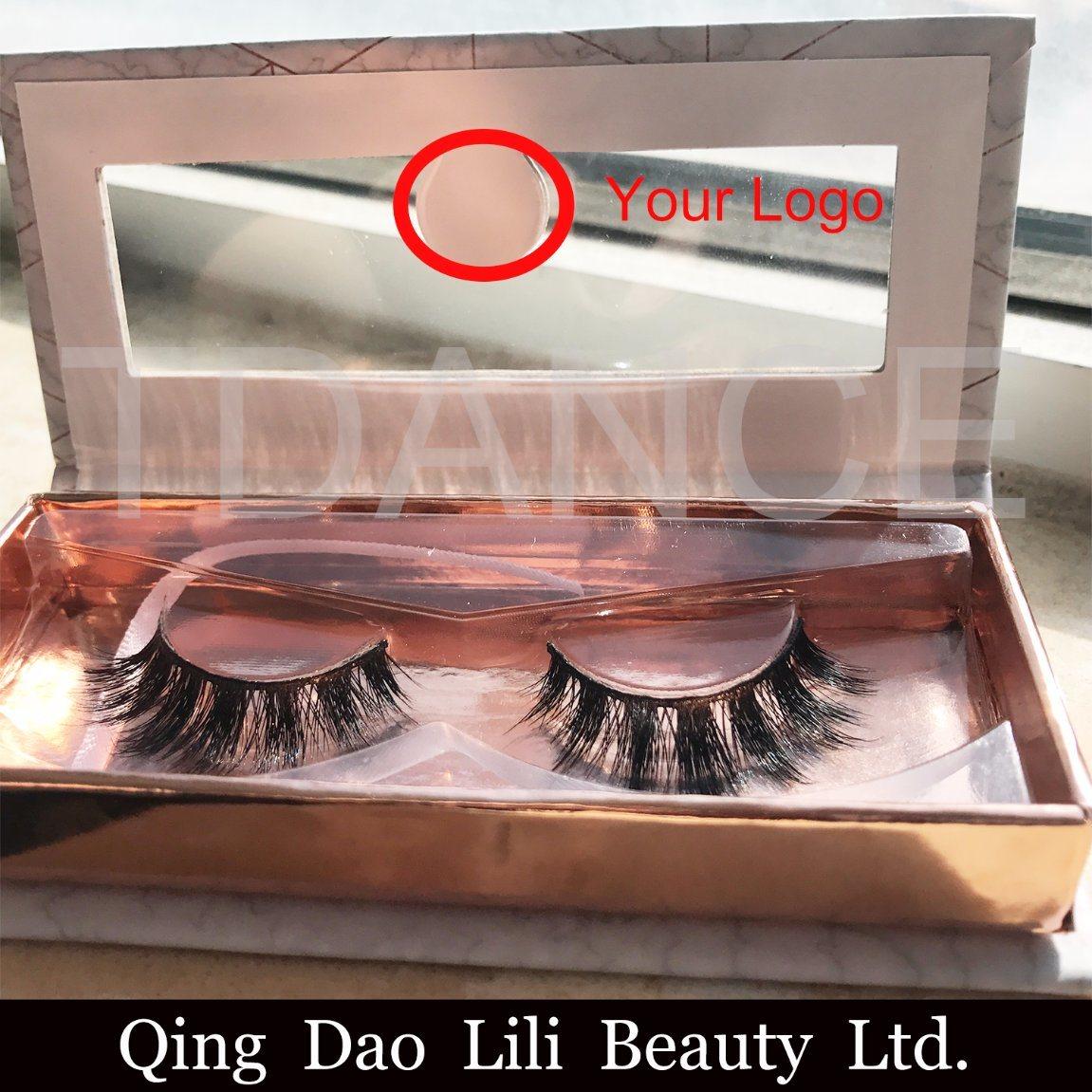China Wholesale Price Faux Mink Lashes Own Brand Eyelash Synthetic