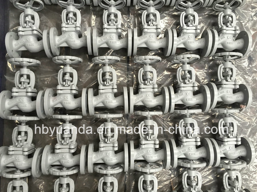 DIN3356 GG25 PN16 cast iron globe valves pictures & photos