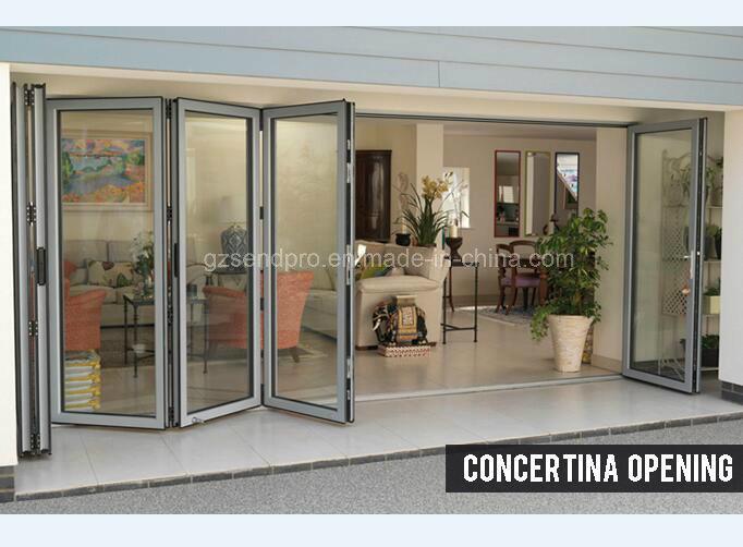 China Latest Home Design Aluminium Door Designs For