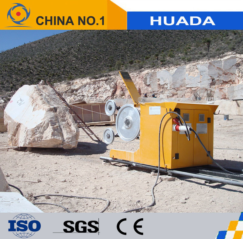 China Diamond Wire Saw Machine for Marble Mining and Cutting - China ...