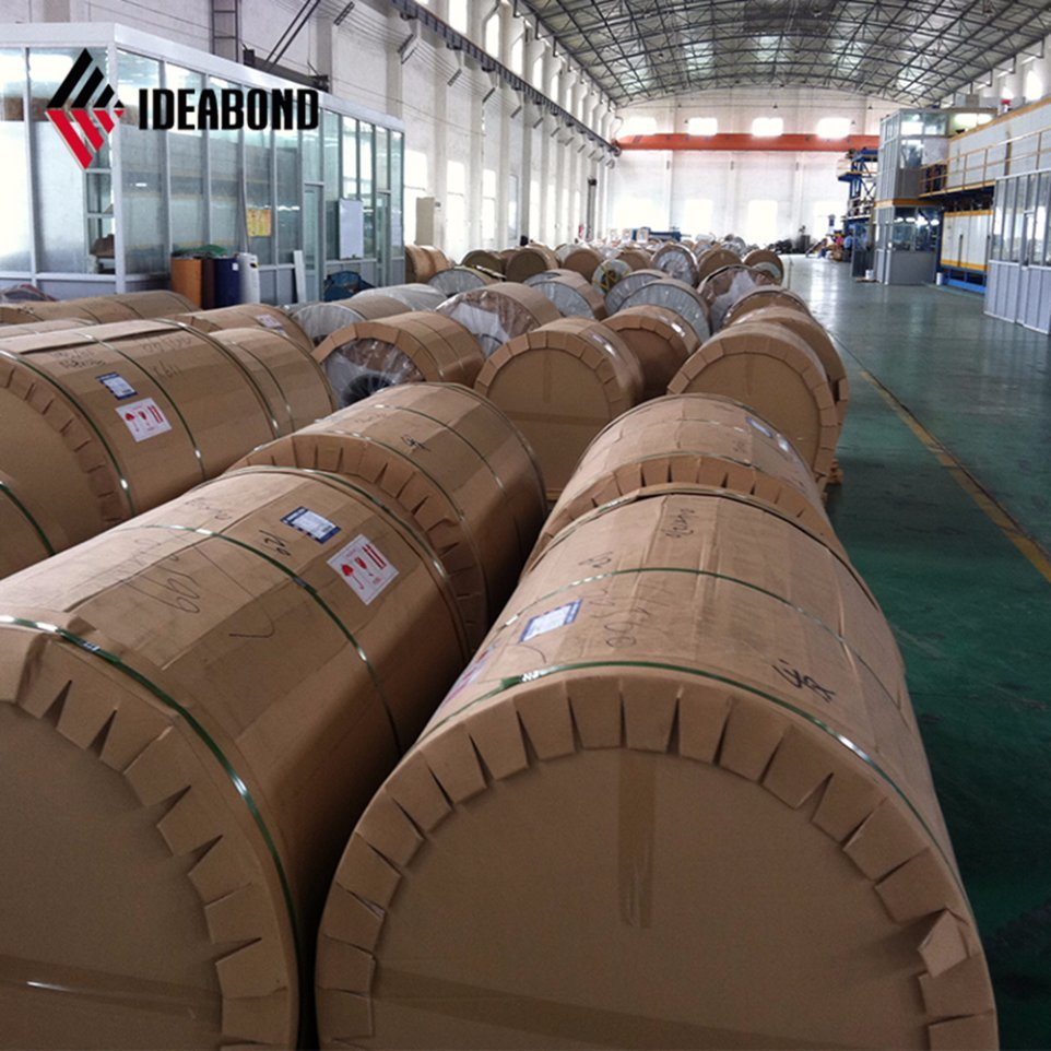 China Color Coated Aluminium Coil For Outdoor Ceiling Tiles China