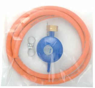 LPG Euro Pressure Gas Regulator with Hose (C30G08U30)
