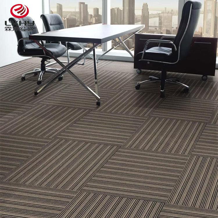 Commercial Floor Carpet Tile Fireproof