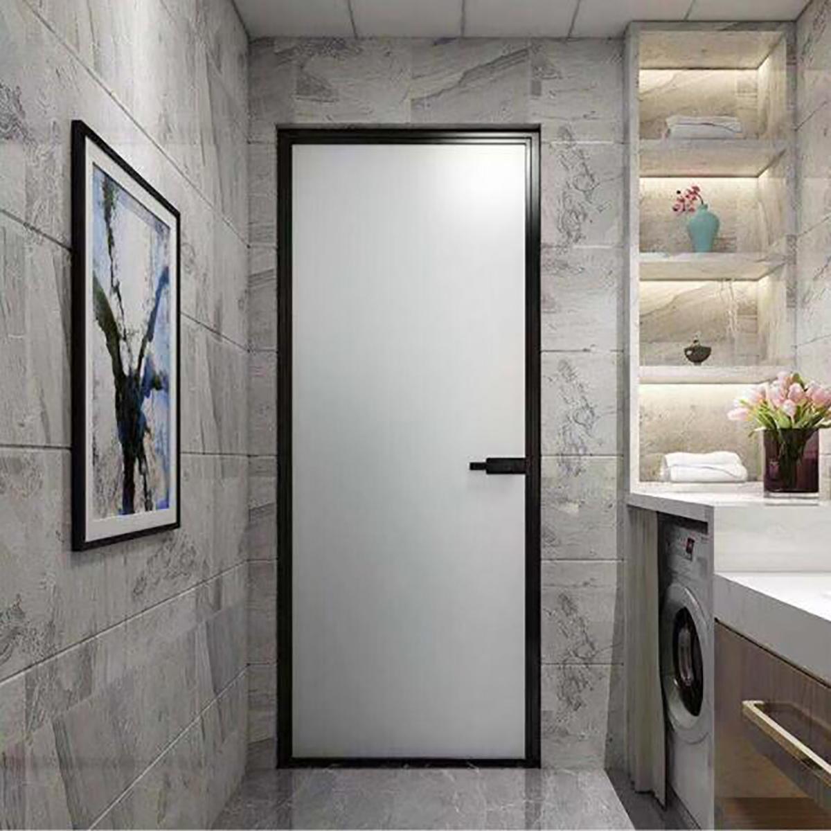 China Foshan Product Modern House Interior Aluminum Bathroom Doors Rest Room China House Product Aluminum Doors Rest Room