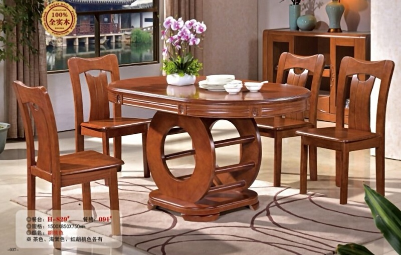 High Quality Chinese Products Modern Wood Dining Table Dining Tables And Chairs Set China Table And Chair Dining Table Sets