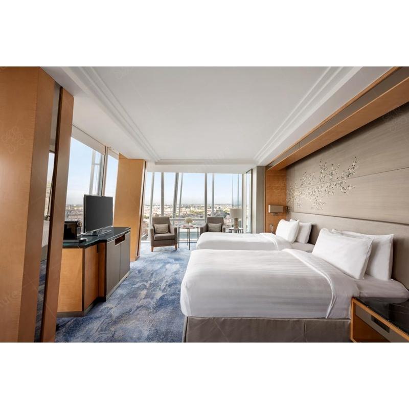 Astounding Hot Item Modern 5 Star Hotel Room Furniture Custom Wood Luxury Bedroom Sets For Hilton Hotel Download Free Architecture Designs Meptaeticmadebymaigaardcom