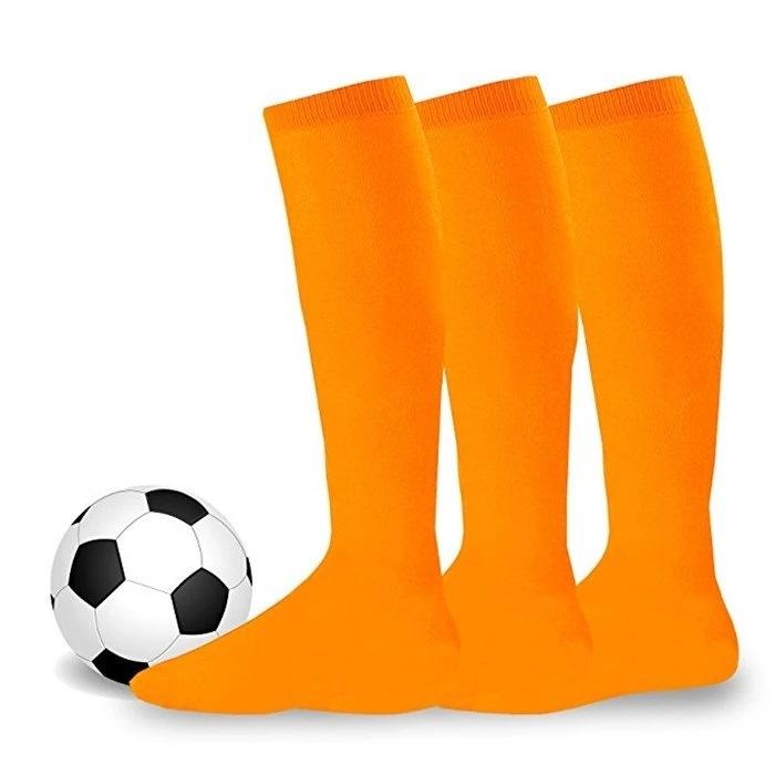 Baby Kids Long Socks Toddler Girl Boy Football Knee High Stockings Sports Soccer