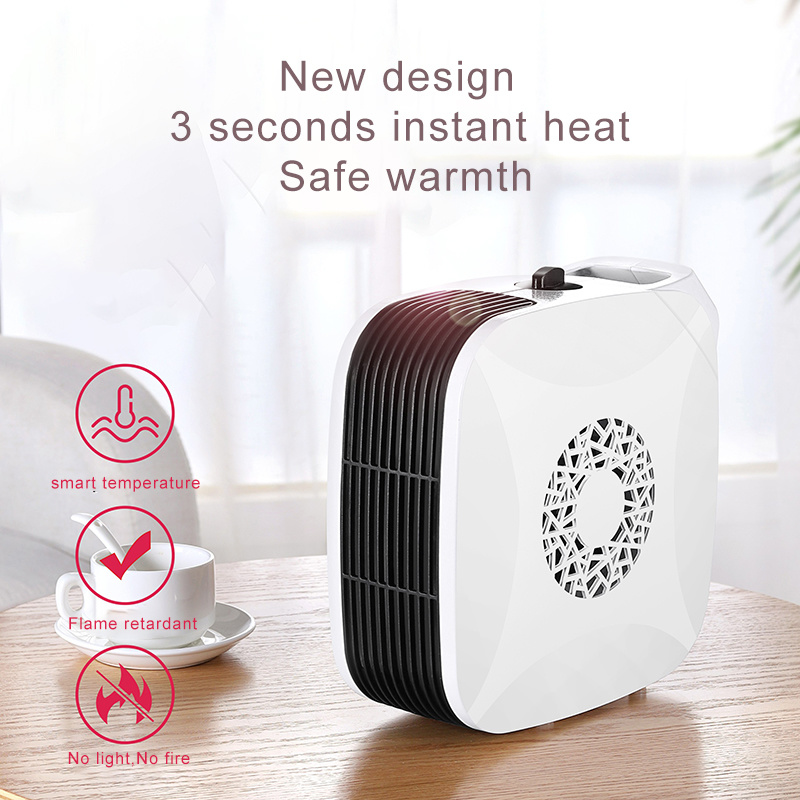China 700w Mini Small Fan Heaters Room Electric Heater Heating