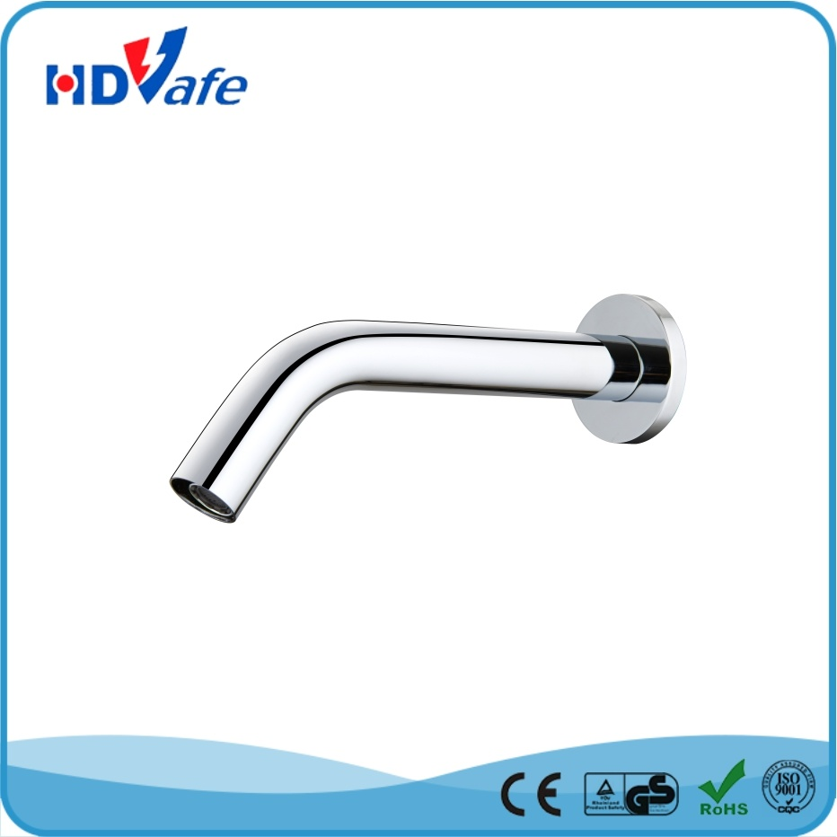 Optical Fiber Sensor Faucet Wall Mounted Automatic Water Tap HD5201 pictures & photos