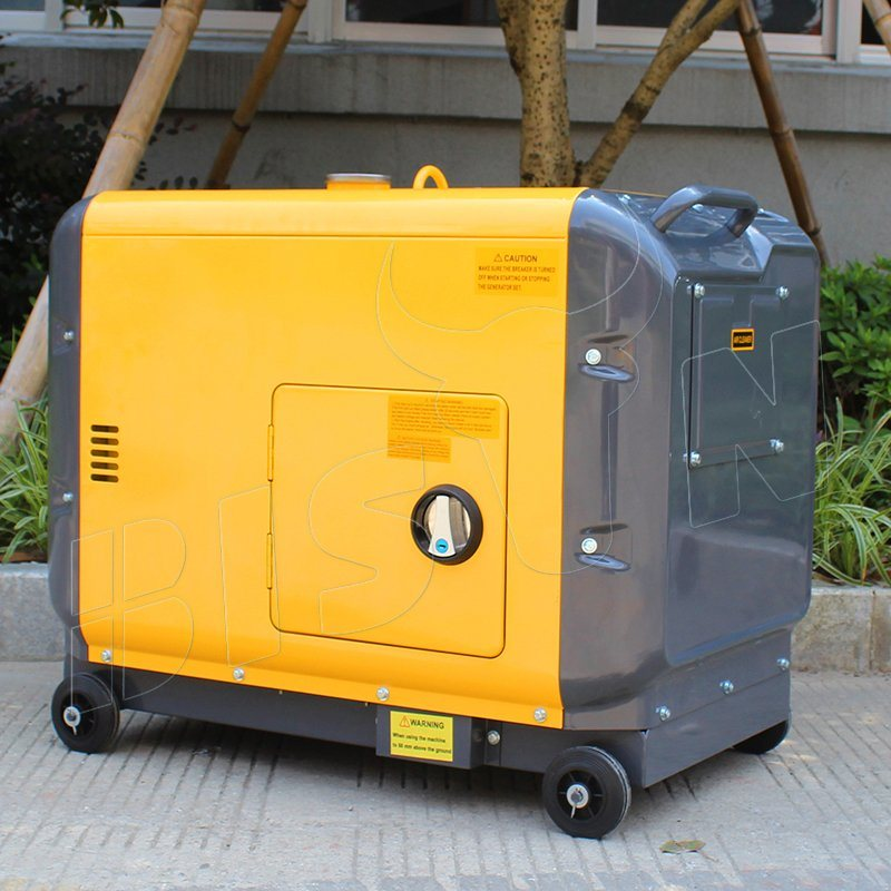 Bison (China) BS7500dsea 6kw Factory Price OEM Factory Long Run Time Reliable Welding Generator Diesel Price pictures & photos
