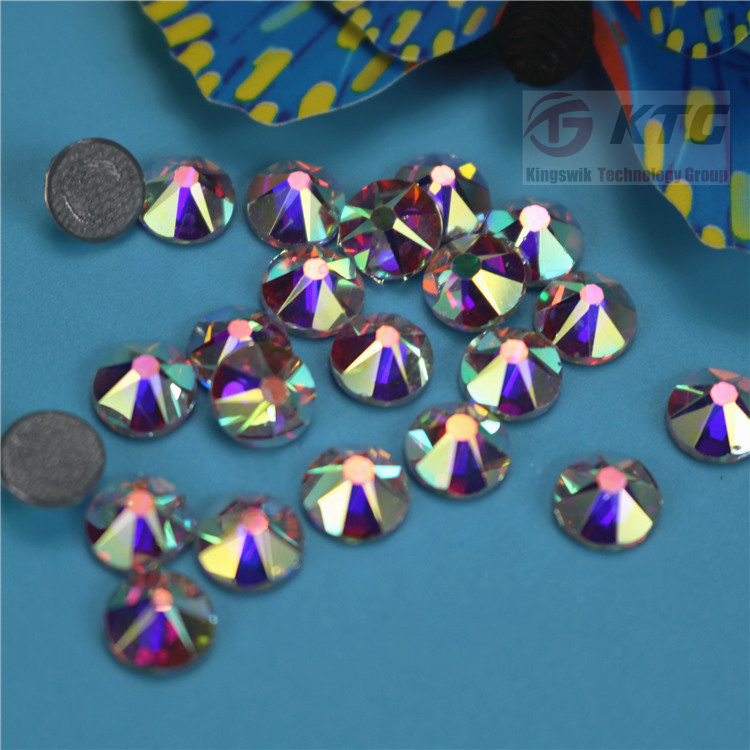 Factory New Arrival High Shiny Ss20 2088 16 Cut Facets Crystal Ab China Hot Fix Rhinestones for Dress pictures & photos