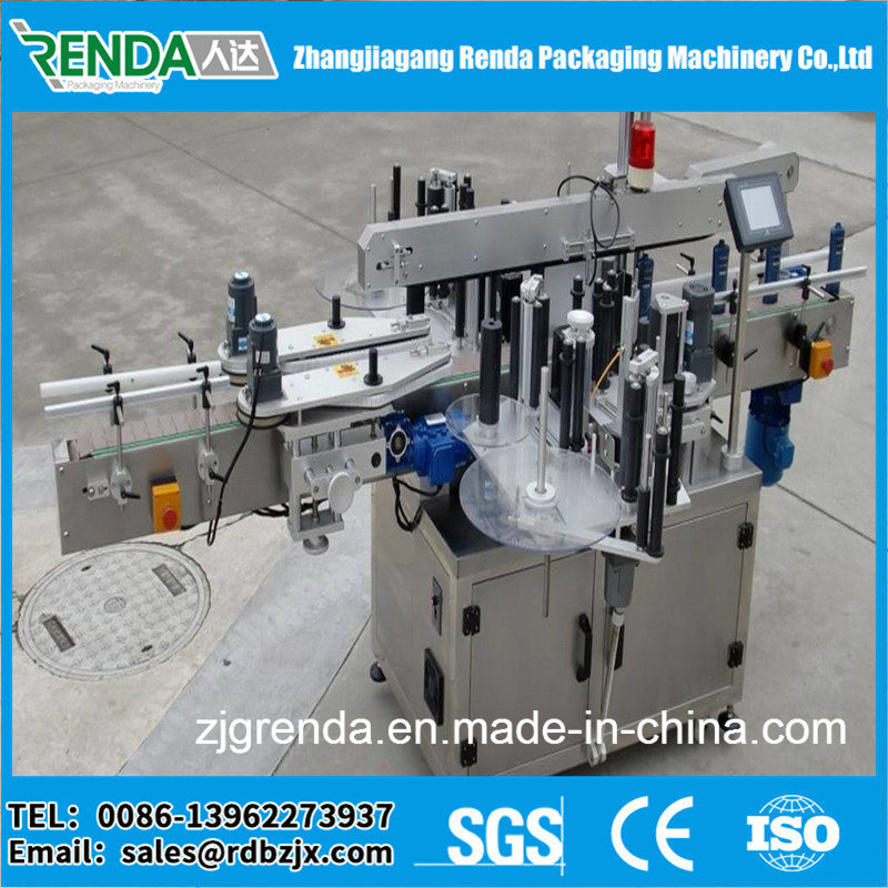 Customized Beverage Container Sticker Labeling Machine