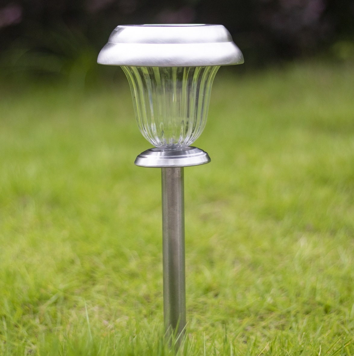China Solar Lights Outdoor Decorative Garden Path Stake Lamp Led Yard Decorations Landscape Lighting Stainless Steel Driveway Stakes For Walkway Patio China Solar Lights Outdoor Solar Lights