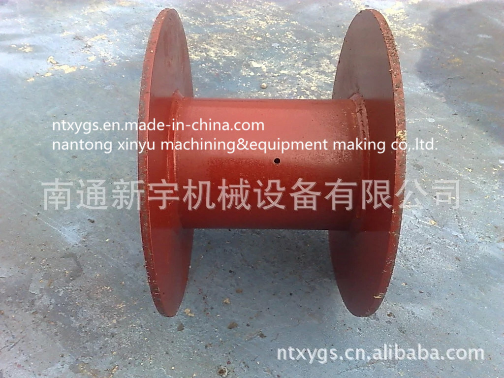 Red Bobbin for Steel Wire