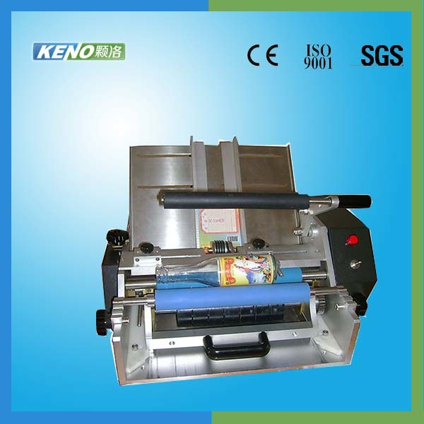 Keno L117 High Quality Hot Stamp Leather Label Labeling Machine