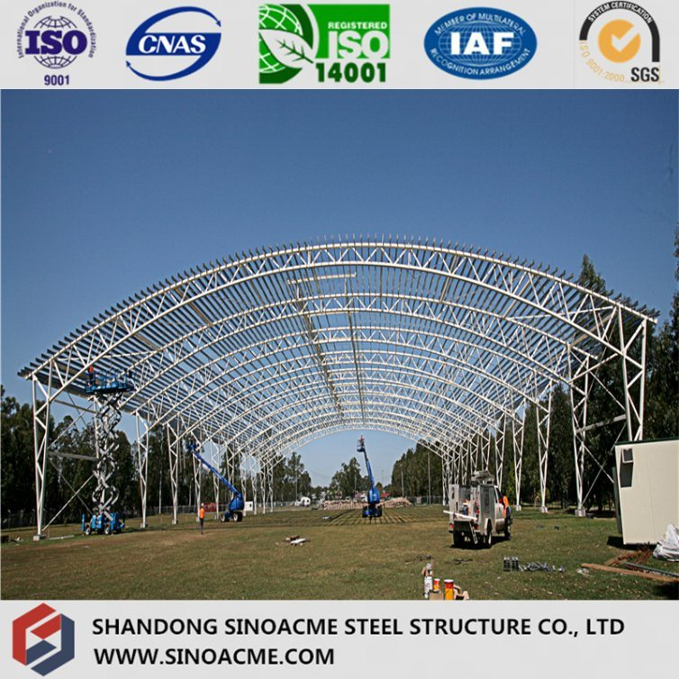 Steel Pipe Truss Structure Building