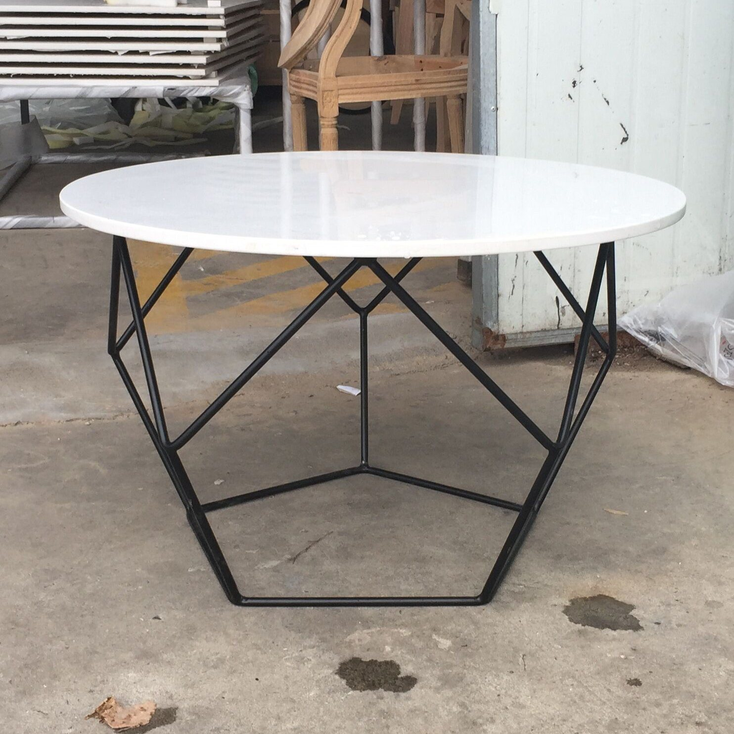 Small Round Coffee Table.China Modern Metal Leg Granite Top Small Round Coffee Table Photos