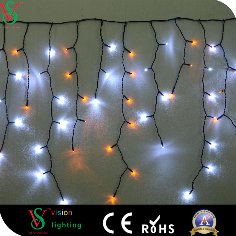 China Multicolor Led Icicle Light For Christmas Outdoor