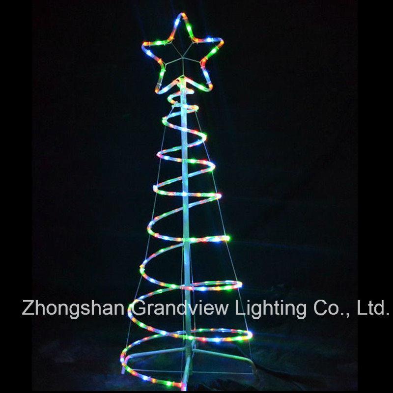 China christmas led rope spiral tree lights with ce rohs sgs photos christmas led rope spiral tree lights with ce rohs sgs mozeypictures Image collections