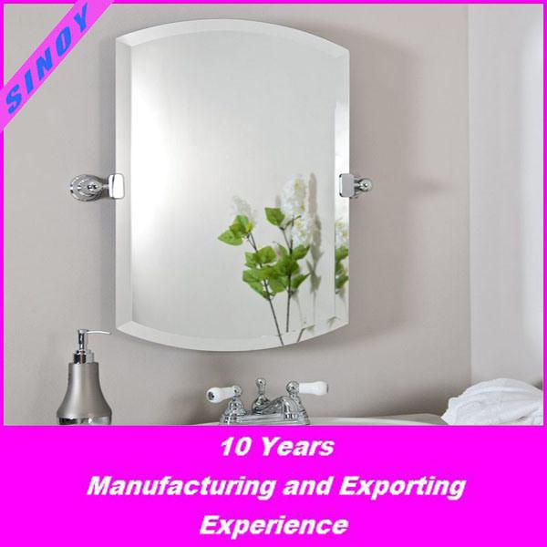 China Sinoy Bathroom Mirror With Beveled Edge Snm Bmbe 1000 In Customer Size China Bathroom Mirror With Beveled Edge Beveled Mirror