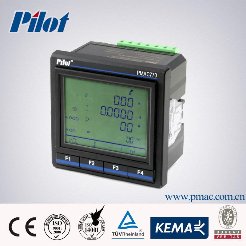 China Pmac770 Multifunction Power Meter Tcp Ip Communication China Multifunction Power Meter Energy Meter