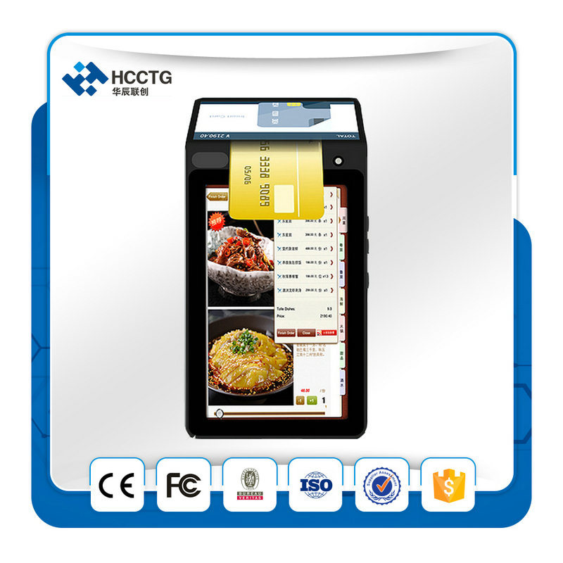 Lottery Terminal Handheld Android Dual Screen Touch POS Machine (HPC900) pictures & photos