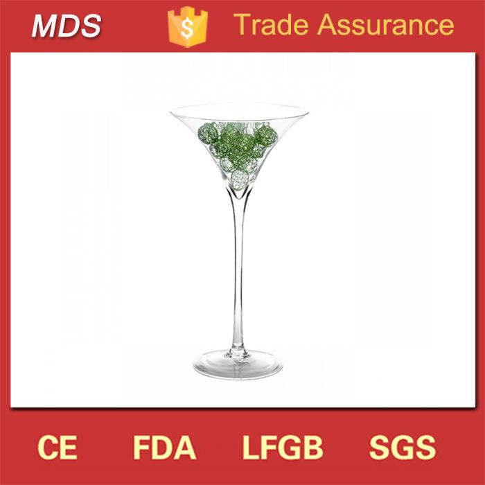 China Beautiful Handmade Wholesale Martini Glass Vases China