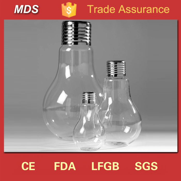China Wedding Table Centerpieces Light Bulb Vase Glass For Flowers