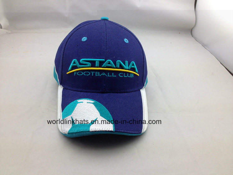 77c12d18924 China Custom Football Sports Cap with Embroidery Logo Design - China  Outdoor Cap