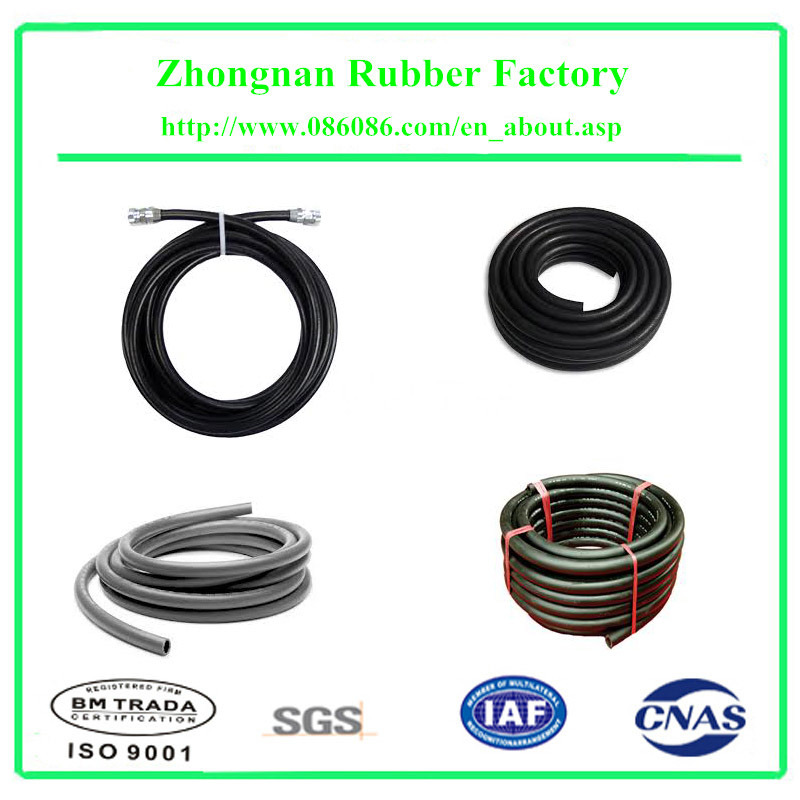 Spiral EPDM Rubber Water Hose for Garden pictures & photos