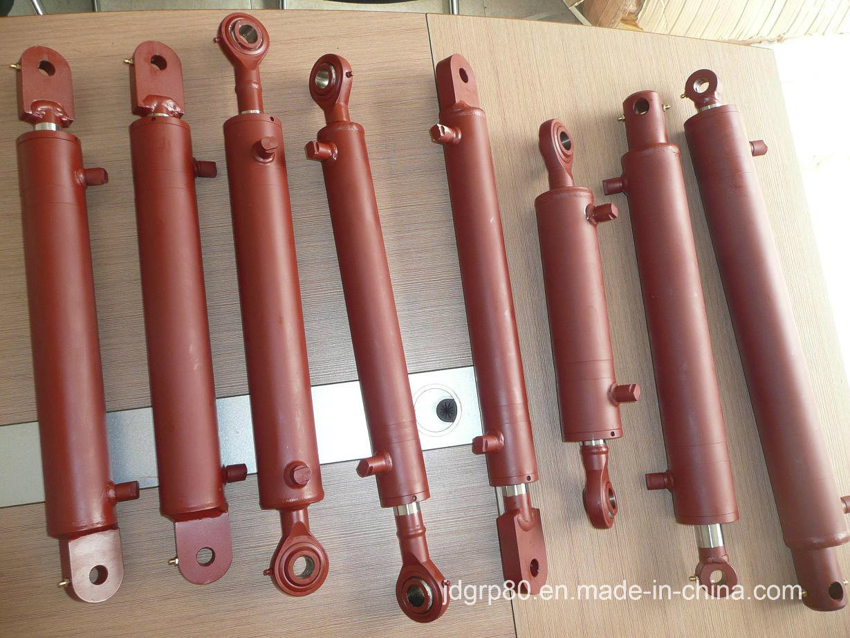 Top Link Hydraulic Cylinder with Spherical Ends for New Zealand Post Driver pictures & photos