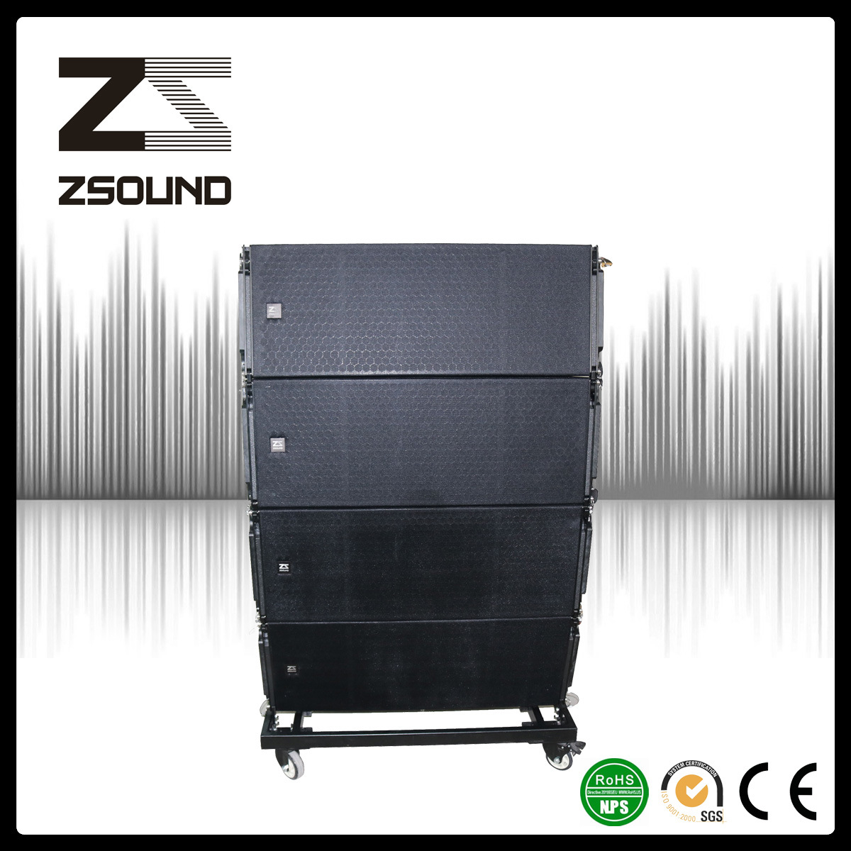 12inch Professional Passive Audio Speaker System for Sale
