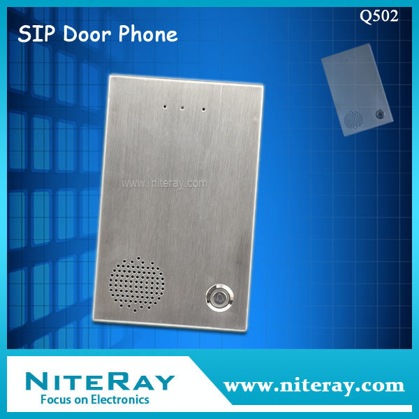 China Security Door Entry Phone Sip Door Phone For Apartment
