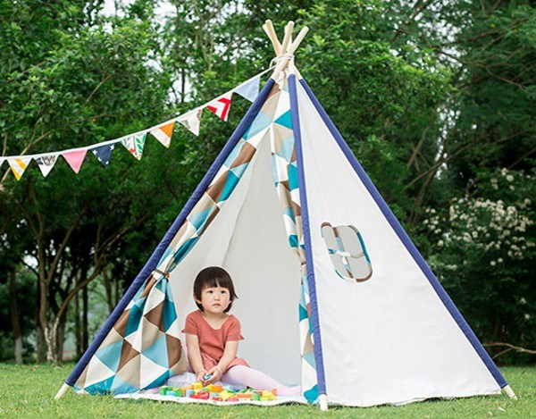 Fashion Factory Kid Toys Kids Teepee Indian Tents for Sale pictures & photos