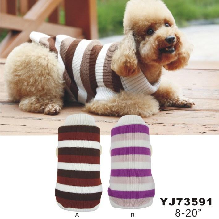China Dog Sweater Free Knitting Pattern (YJ73591) - China Pet Coat ...