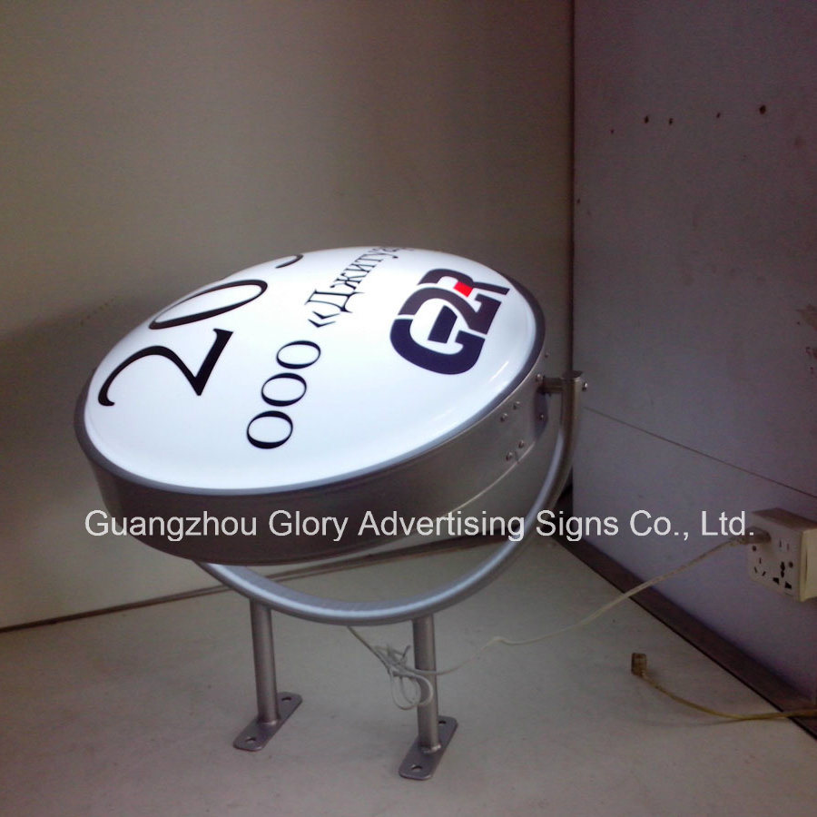 Outdoor Vacuum Forming Rotating LED Light Box pictures & photos