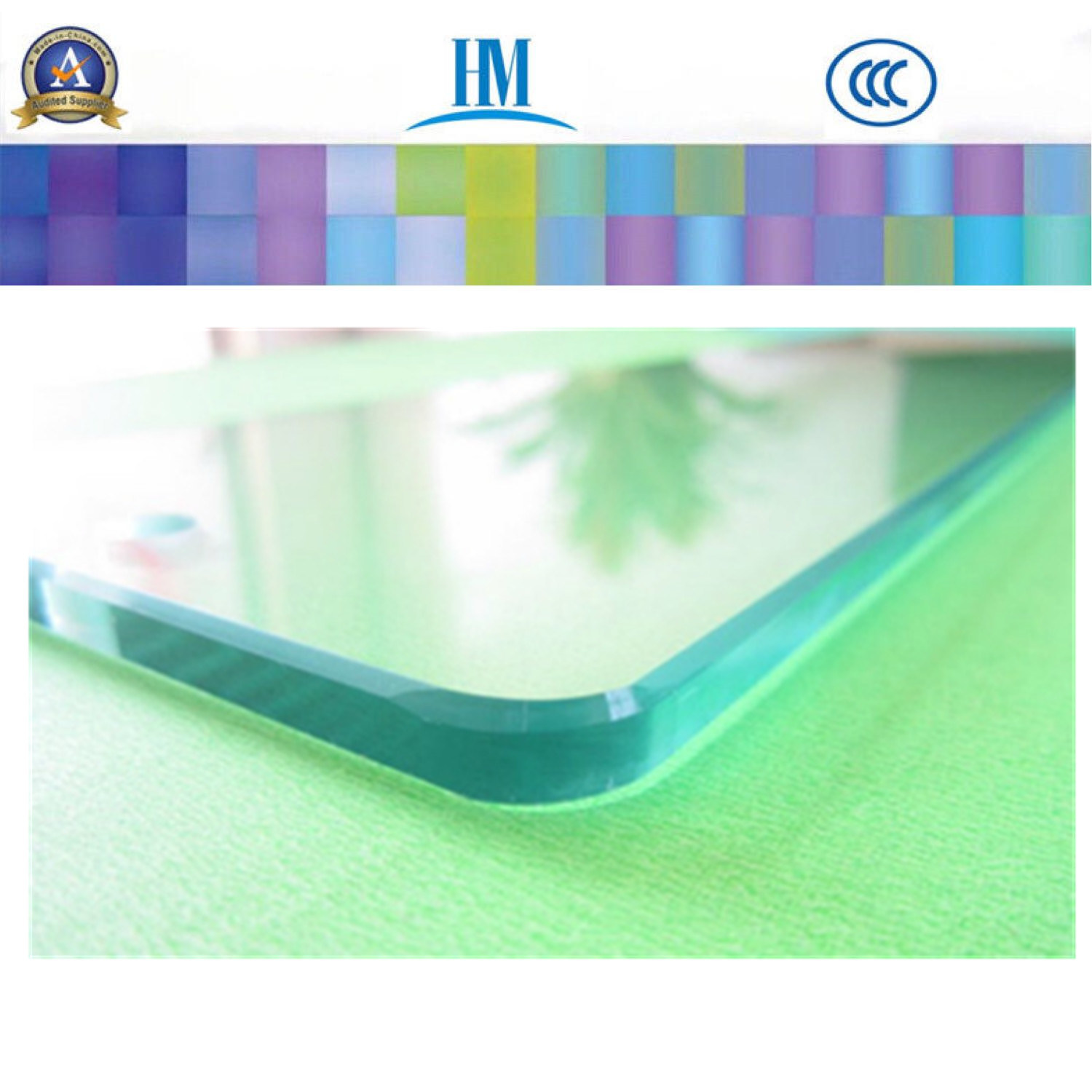 Tempered/Toughened Glass/Window/Shower Door/Tempered Glass