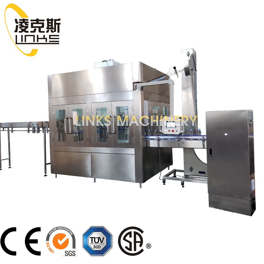 Full Automatic Fruit Juice/Tea Beverage Filling and Capping Line pictures & photos