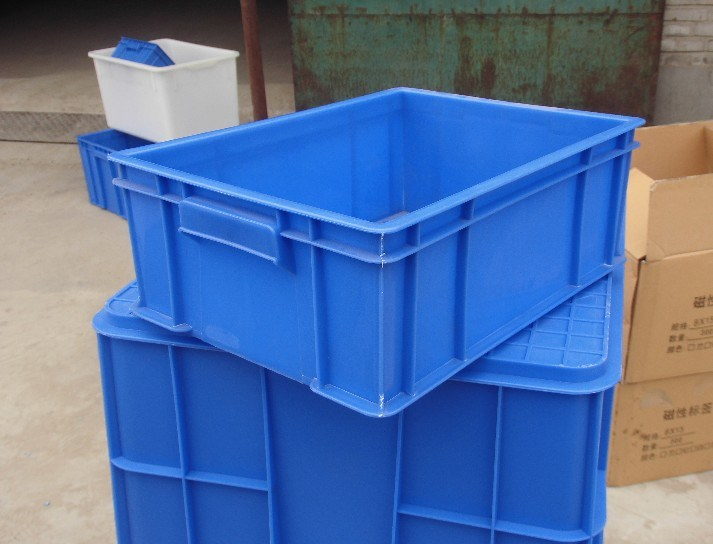 Solid Stackable PP Plastic Crate (JW-CN1412754)