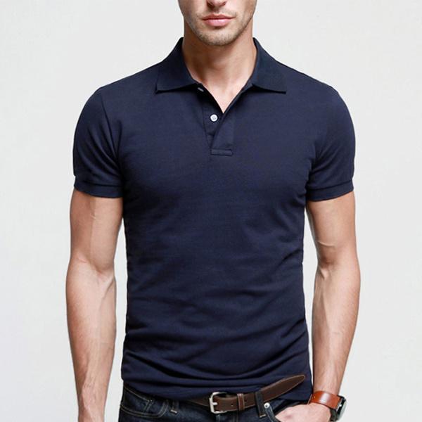 6337210e8 China Best Quality Navy Blue Men Plain Polo Shirt on Sale - China Navy Blue  Polo Shirt, Navy Polo Shirt