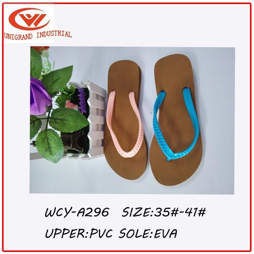ccd775db69d28c China 2016 Summer Imitative Knitted PVC Ladies′ Flip Flops - China Women  Flip Flops