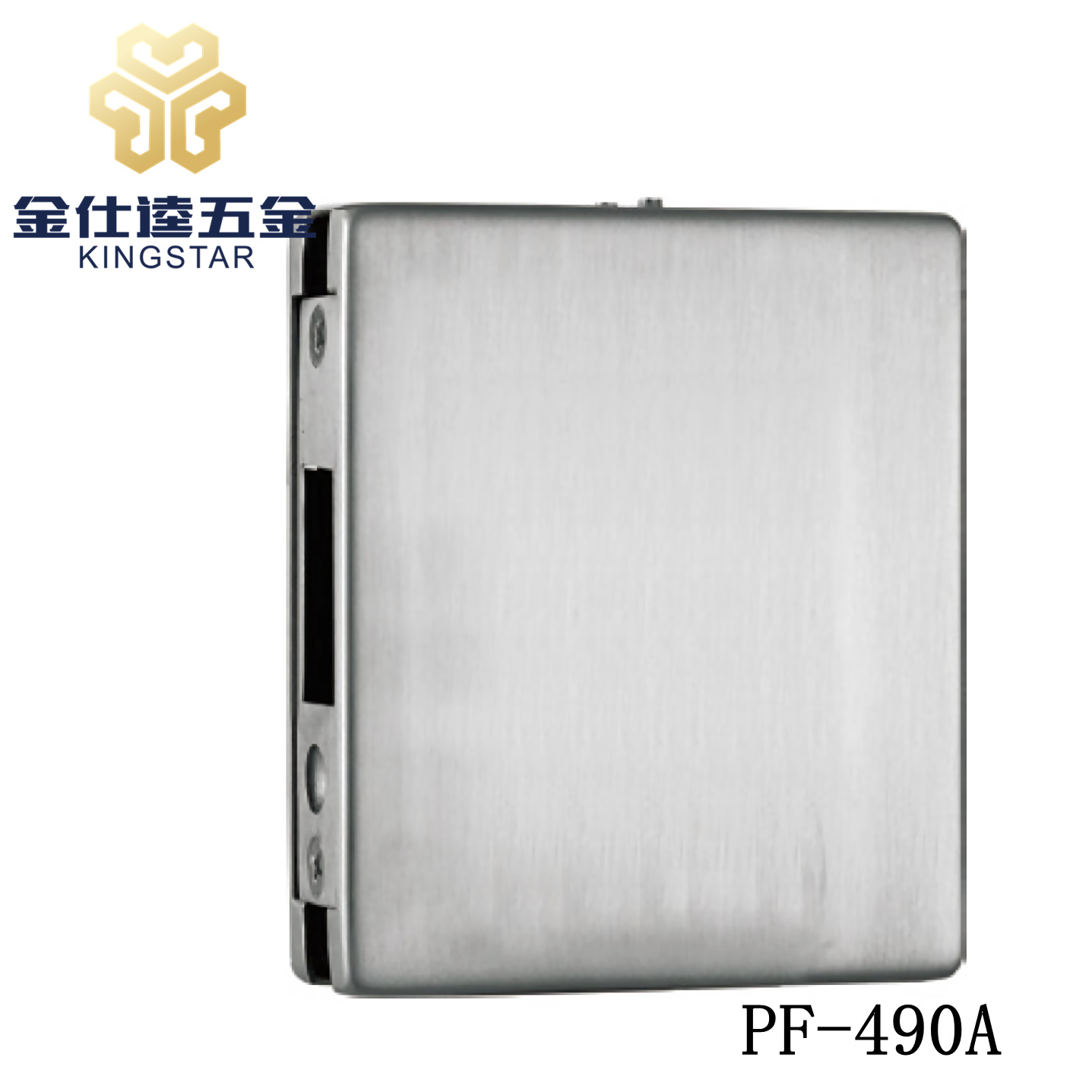 China Glass Door Lock Case Suit Sleeve Box Glass Steel Patch Fitting