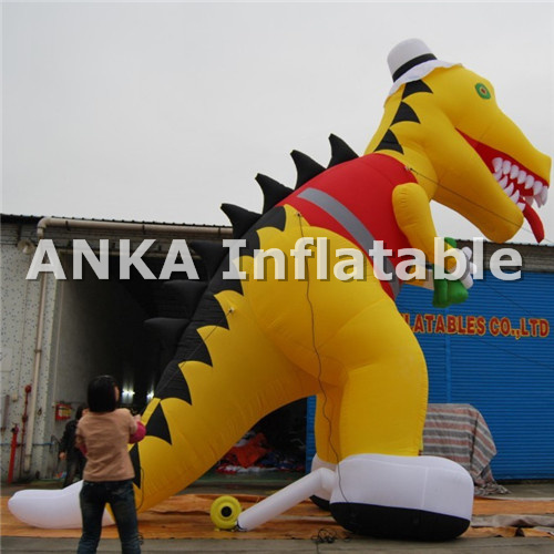 Creatable Giant Inflatable Dinosaur Character Model