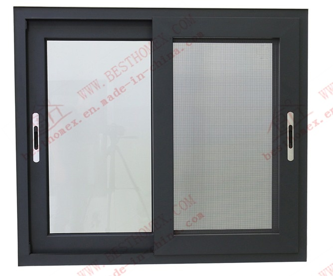 Modern Standard Aluminum Sliding Window (BHA-SW21) pictures & photos