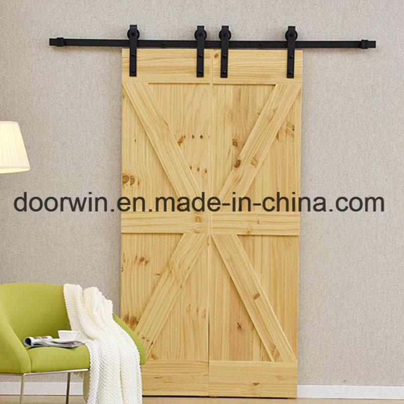 China Modern Interior Doors Sliding Closet Doors Wood Color Double K