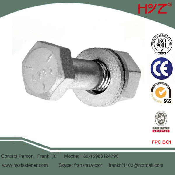 ASTM A325 HDG Heavy Hex Head Bolts