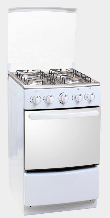 4 Gas Burners Free Standing Gas Stove with Oven