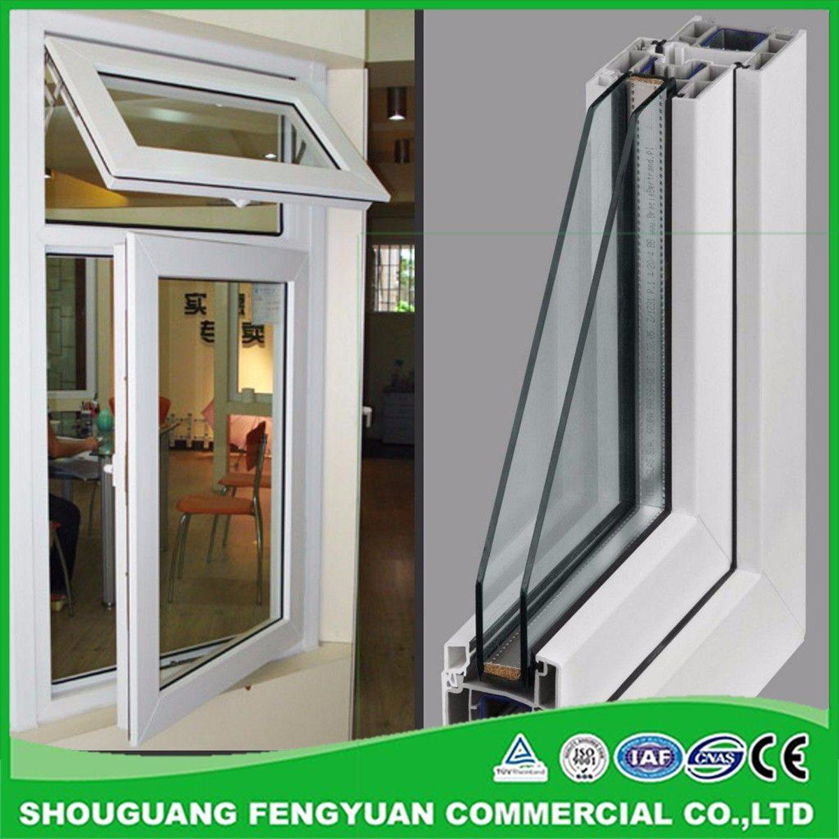 Energy-saving glass for plastic windows 21