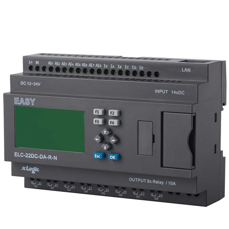 Programmable Relay for Intelligent Control (ELC-22DC-DA-R-N-HMI)